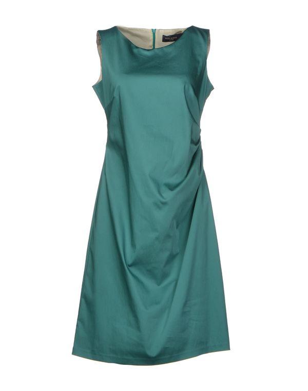 祖母绿 PIAZZA SEMPIONE 及膝连衣裙