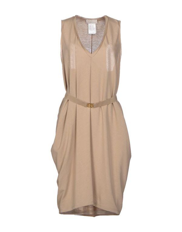 浅棕色 ALYSI 短款连衣裙