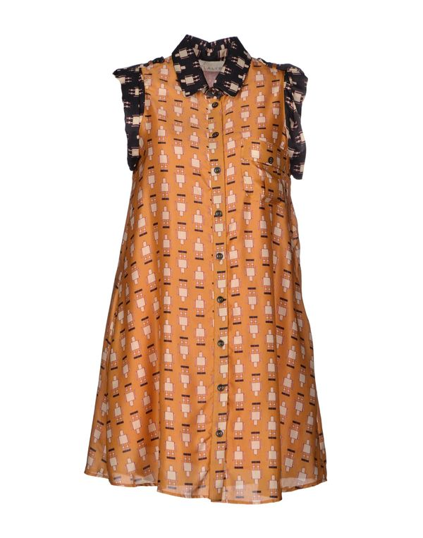 赭石色 ALYSI 短款连衣裙