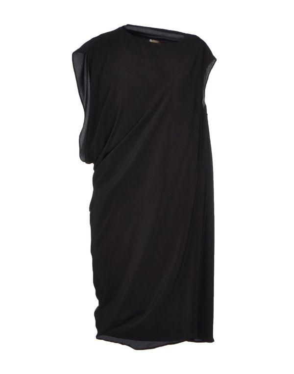 黑色 SPACE STYLE CONCEPT 短款连衣裙