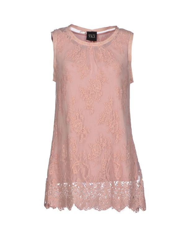 粉红色 TWIN-SET JEANS 上衣