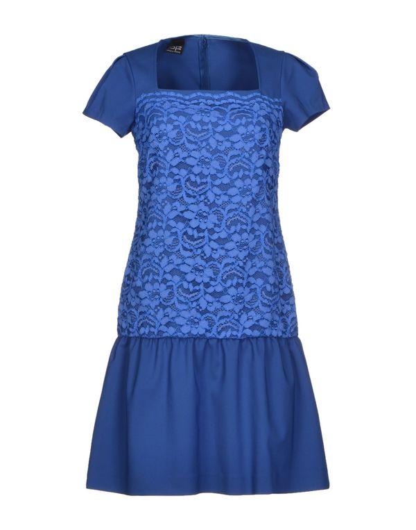 蓝色 PF PAOLA FRANI 短款连衣裙