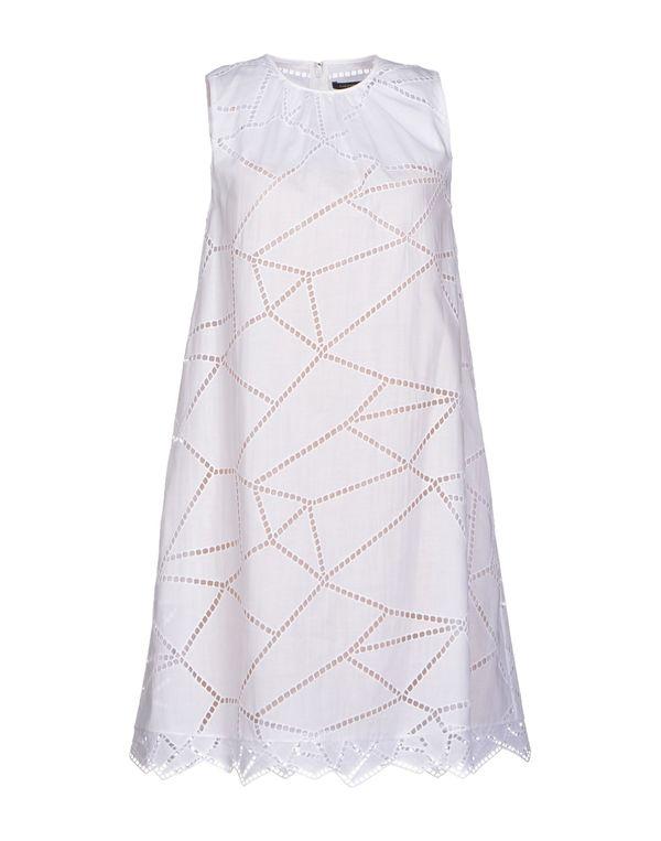 白色 CHRISTOPHER KANE 短款连衣裙