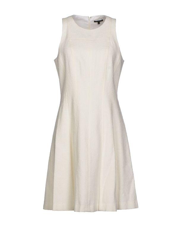 白色 THEORY 短款连衣裙