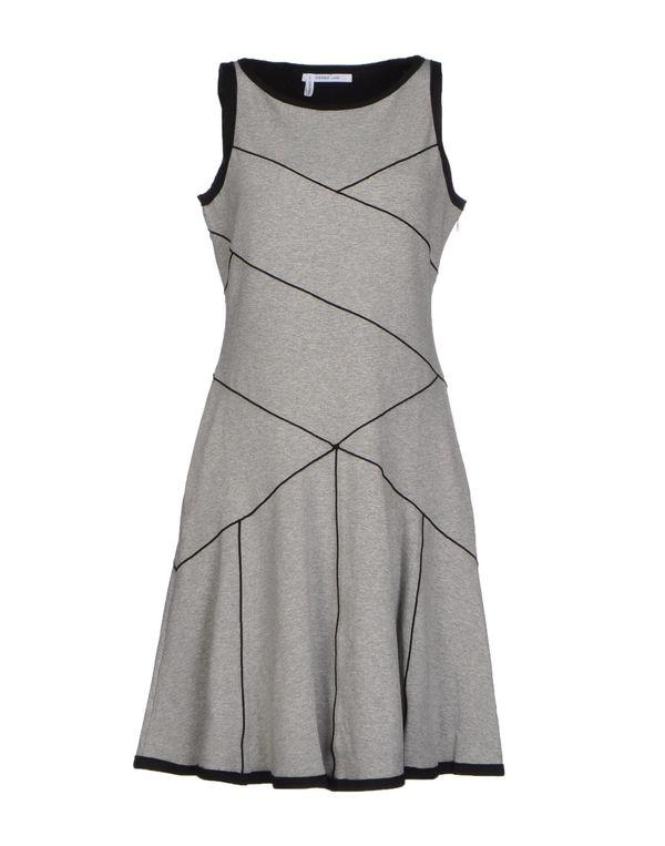 淡灰色 10 CROSBY DEREK LAM 短款连衣裙