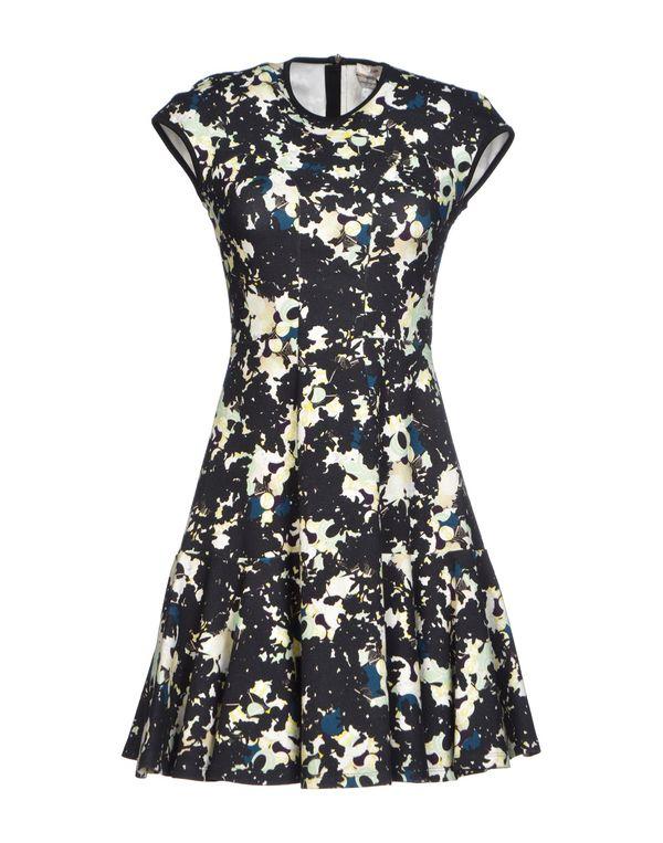 黑色 ERDEM 短款连衣裙