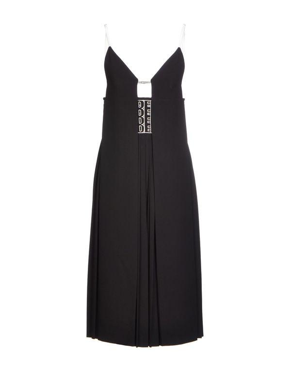 黑色 ALEXANDER WANG 及膝连衣裙
