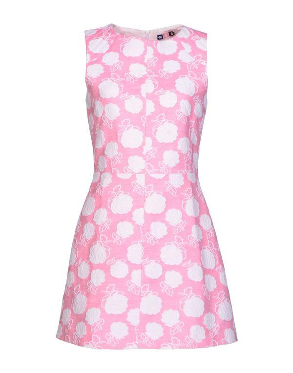 粉红色 MSGM 短款连衣裙