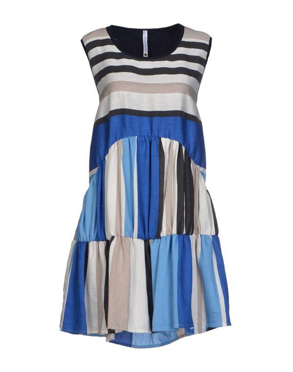蓝色 PIANURASTUDIO 短款连衣裙