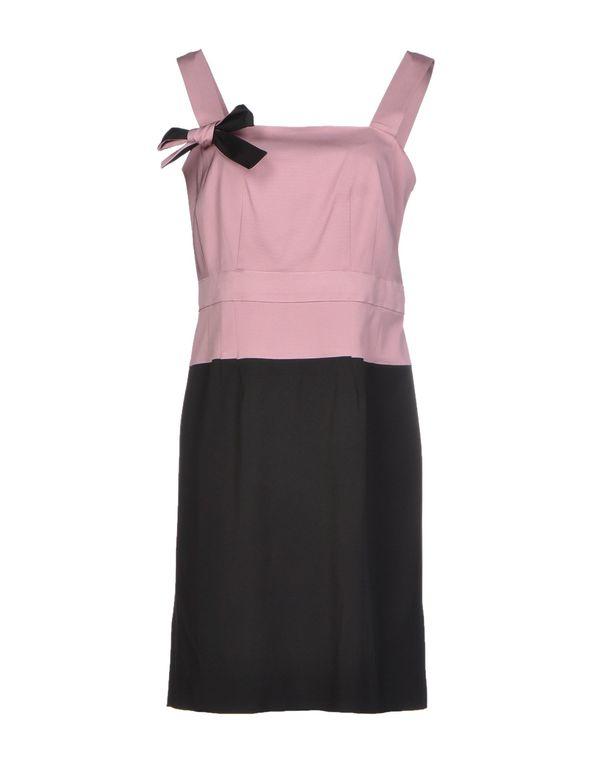 紫红 PIANURASTUDIO 短款连衣裙