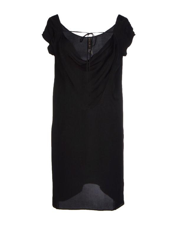 黑色 MANILA GRACE 短款连衣裙