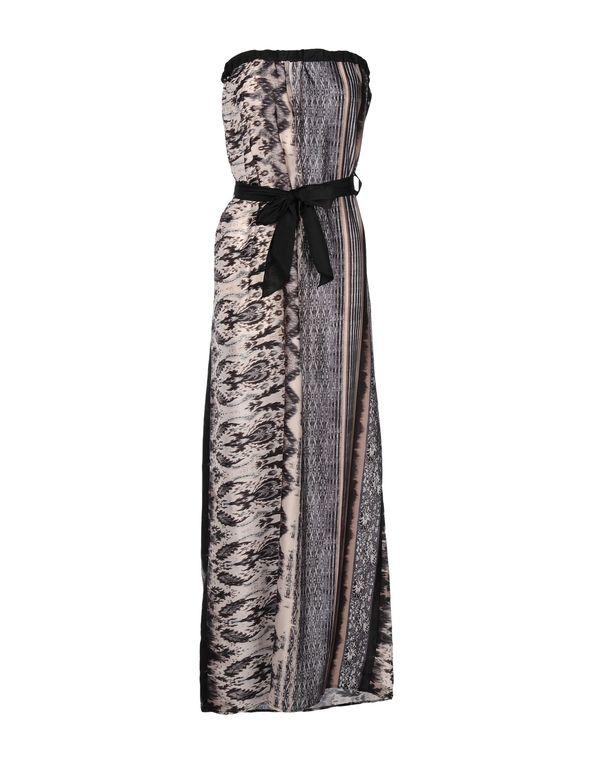 灰色 KAOS 长款连衣裙