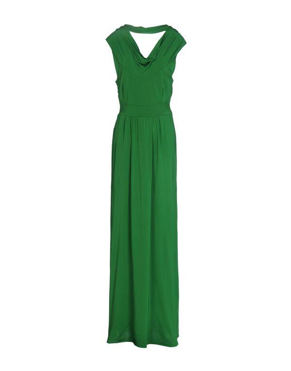 绿色 PAOLA FRANI 长款连衣裙