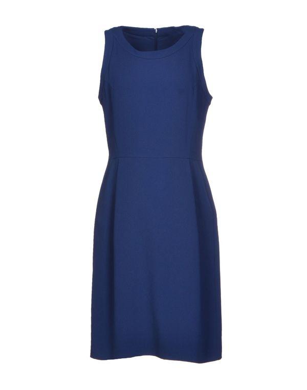 蓝色 THEORY 短款连衣裙
