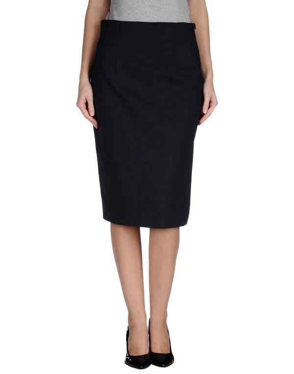 黑色 LES COPAINS 半长裙