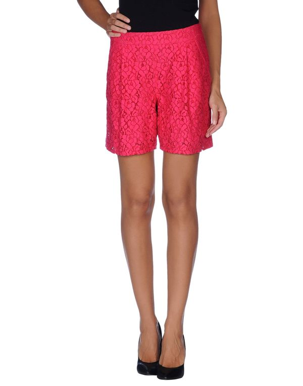 石榴红 FRANKIE MORELLO 百慕达短裤