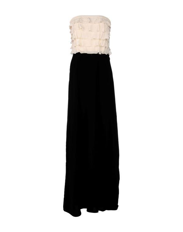 黑色 JUCCA 长款连衣裙