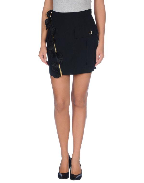 黑色 EMANUEL UNGARO 超短裙