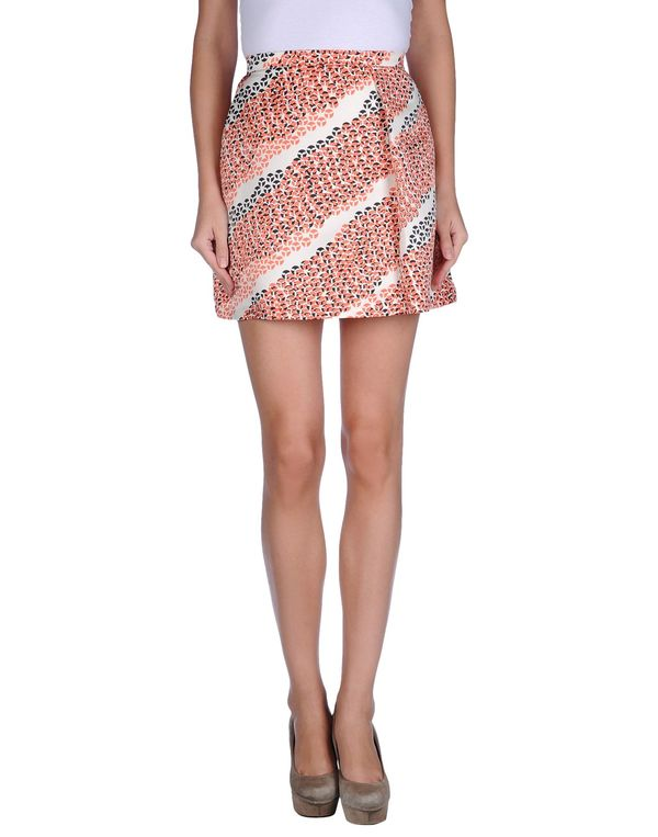 珊瑚红 NOSHUA 超短裙