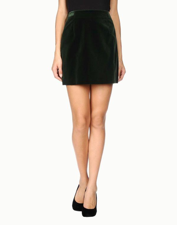 绿色 ASPESI 超短裙