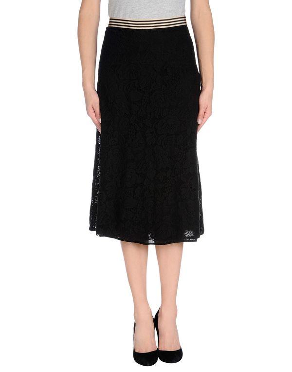 黑色 JUCCA 半长裙
