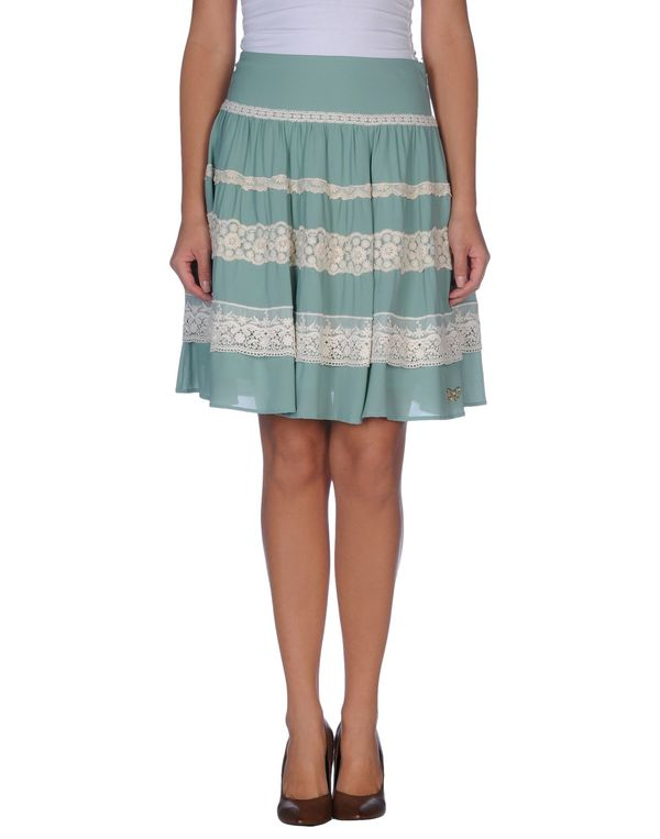 浅绿色 ATELIER FIXDESIGN 及膝半裙