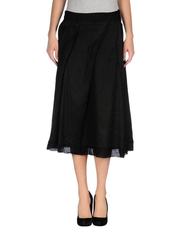 黑色 LIVIANA CONTI 半长裙