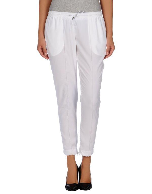 白色 ARMANI JEANS 裤装