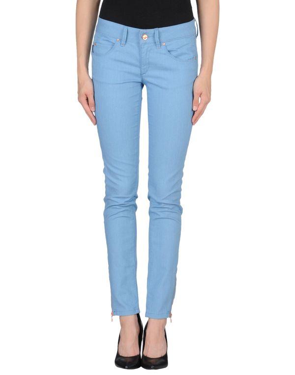 粉蓝色 CALVIN KLEIN JEANS 牛仔裤