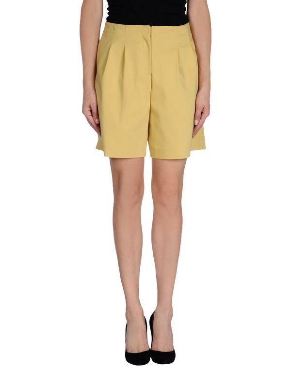 黄色 LAVINIATURRA 百慕达短裤