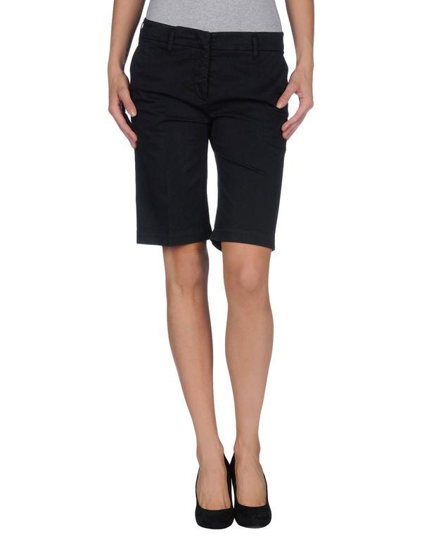 黑色 ASPESI 百慕达短裤