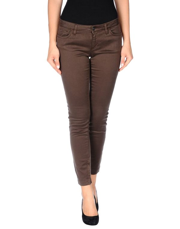 深棕色 DOLCE & GABBANA 裤装