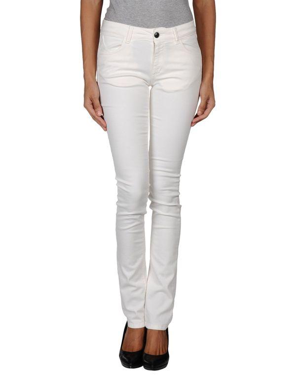 白色 TWIN-SET SIMONA BARBIERI 裤装