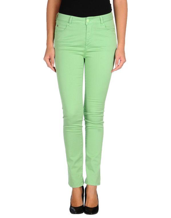 浅绿色 LOVE MOSCHINO 裤装