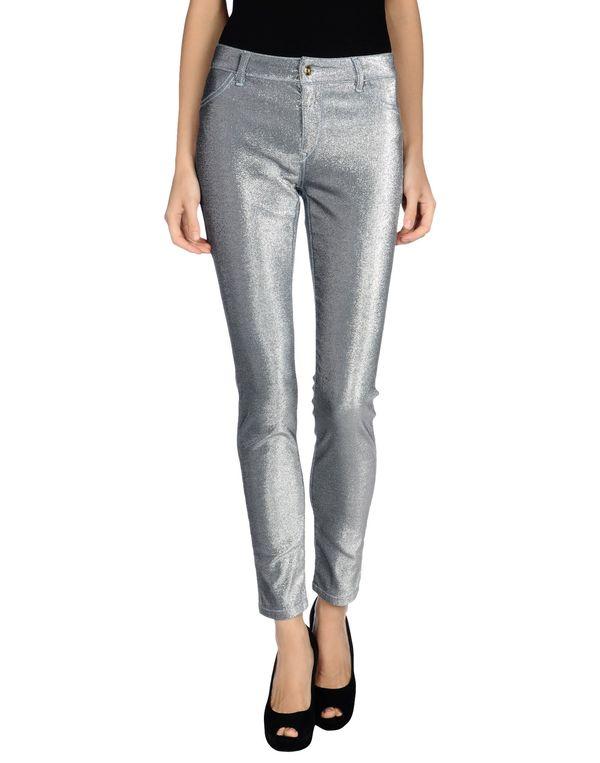 淡灰色 JUST CAVALLI 牛仔裤