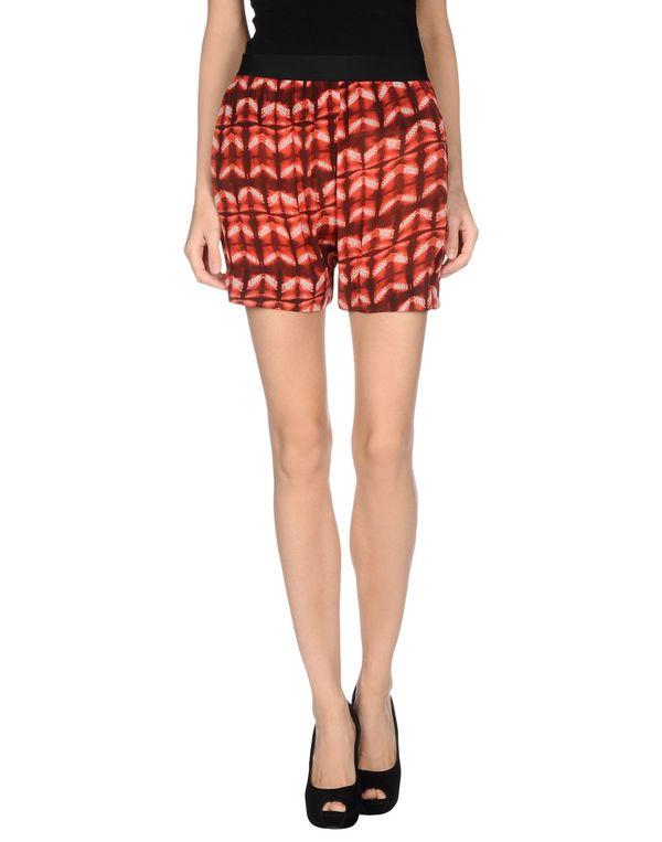 红色 GAT RIMON 百慕达短裤