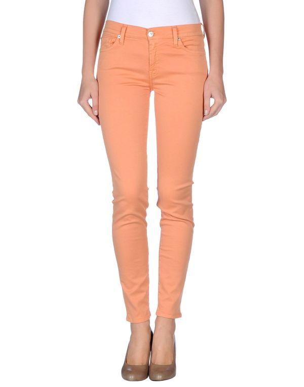 橙色 7 FOR ALL MANKIND 裤装