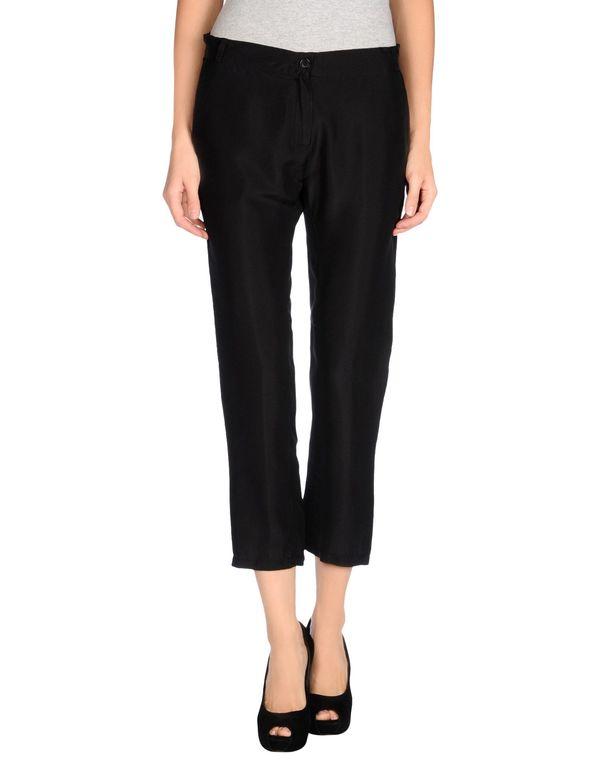 黑色 SUOLI 七分裤