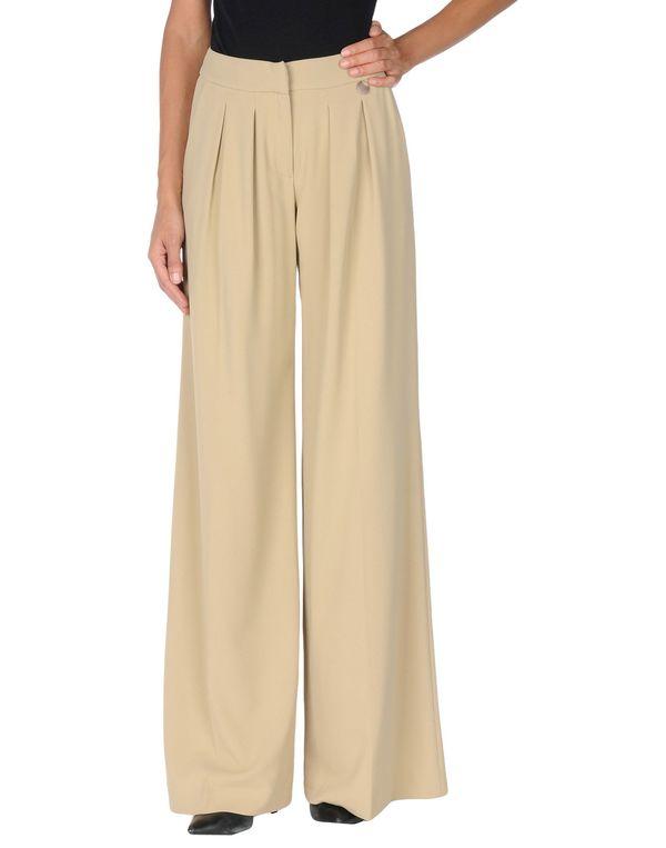 沙色 TWIN-SET SIMONA BARBIERI 裤装