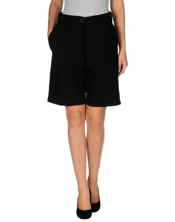 黑色 SEMI-COUTURE 百慕达短裤