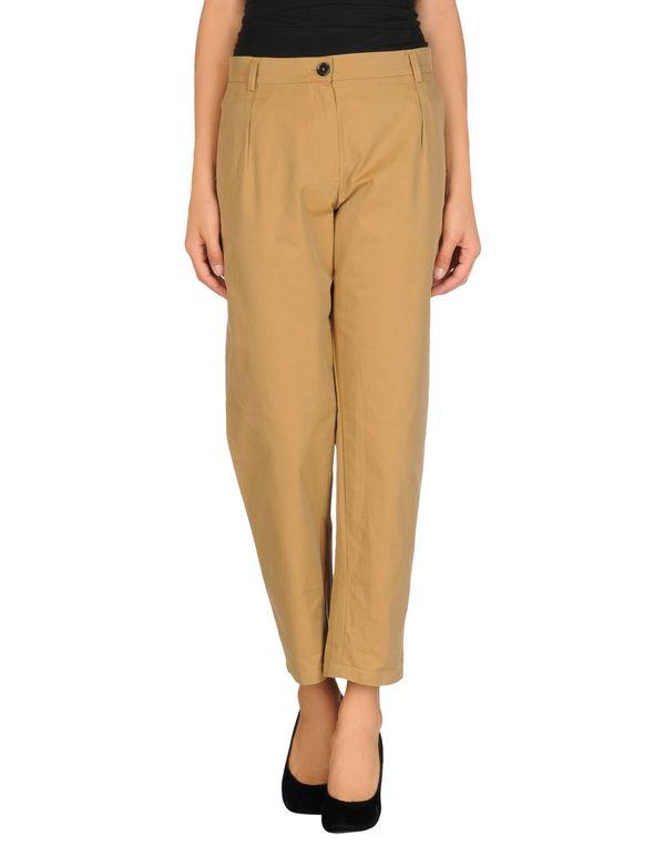 卡其色 SEMI-COUTURE 裤装