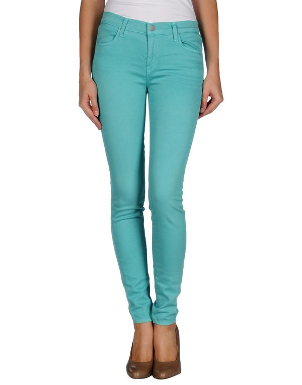 蓝绿色 J BRAND 裤装