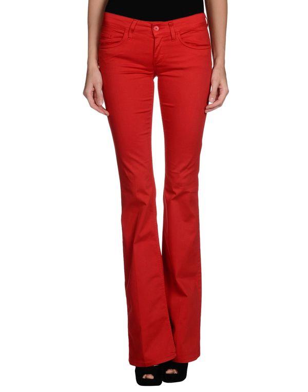 红色 LIU •JO JEANS 裤装