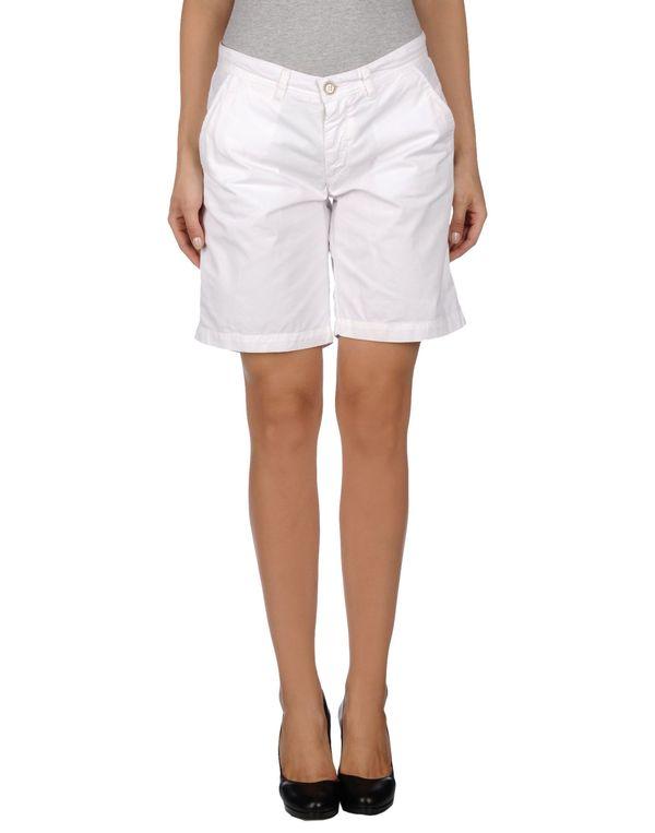 白色 40WEFT 百慕达短裤