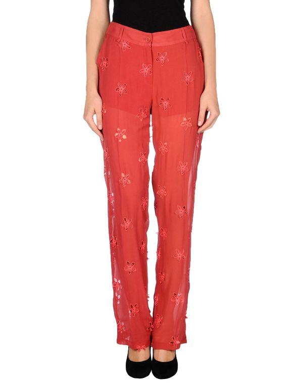 铁锈红 KRISTINA TI 裤装