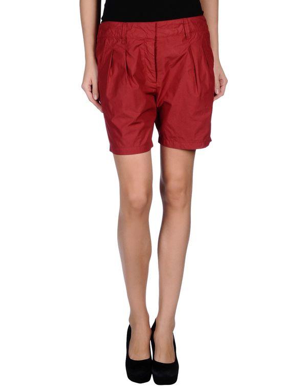 波尔多红 MANILA GRACE 短裤
