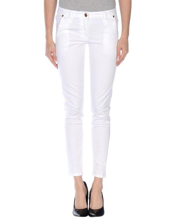 白色 ANNARITA N. 裤装