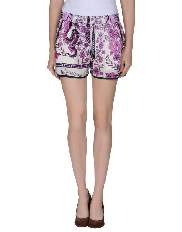 紫红 GUESS 短裤
