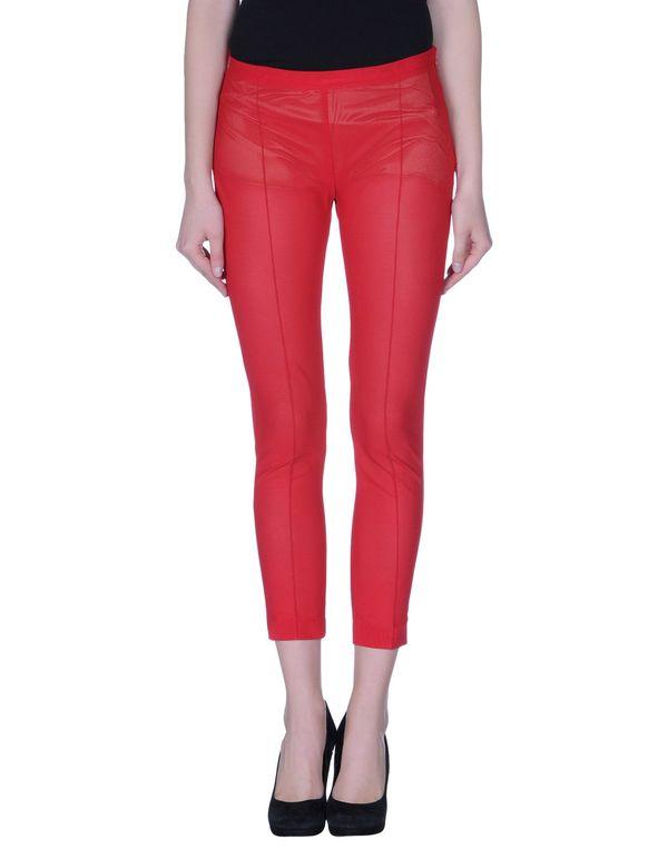 红色 PF PAOLA FRANI 裤装