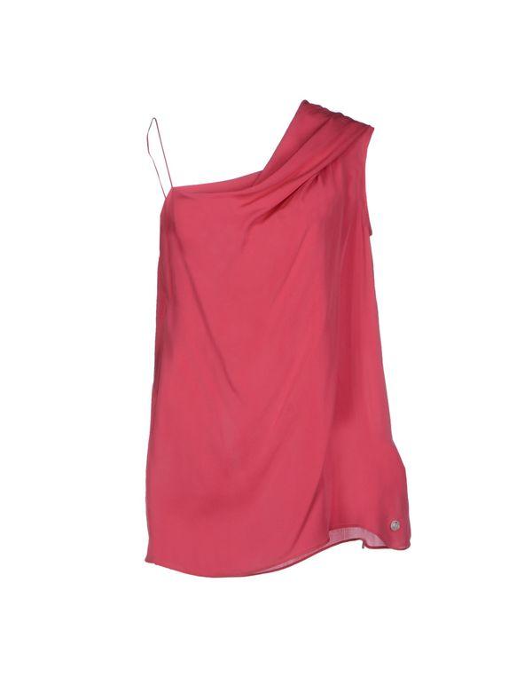 玫红色 LIU •JO 上衣